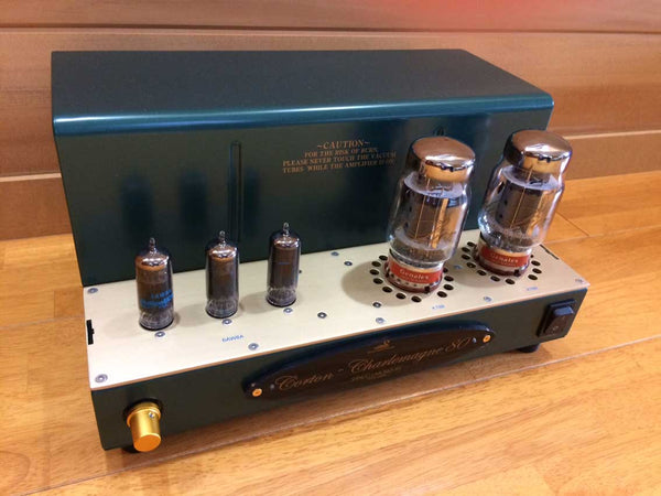Pair Shindo Laboratory Corton-Charlemagne 80 Monaural Block Power Amplifier