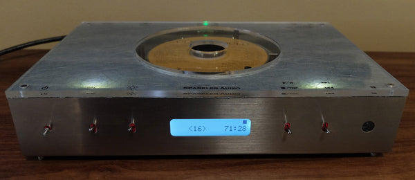 "Sparkler Audio S503 ""spiral"" CD Player/Transport"