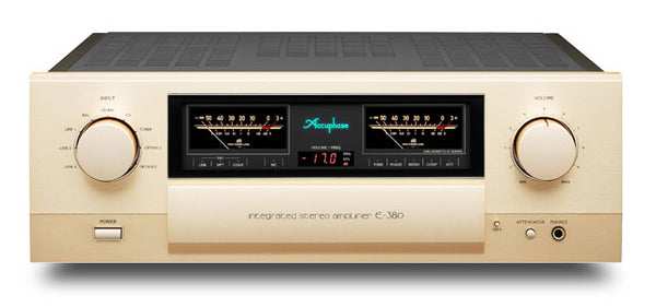 Accuphase E-380 120W/ch Integrated Stereo Amplifier