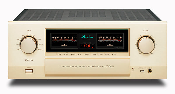 Accuphase E-650 Integrated Stereo Amplifier