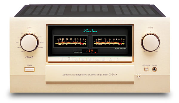 Accuphase E-800 Class-A Precision Integrated Stereo Amplifier