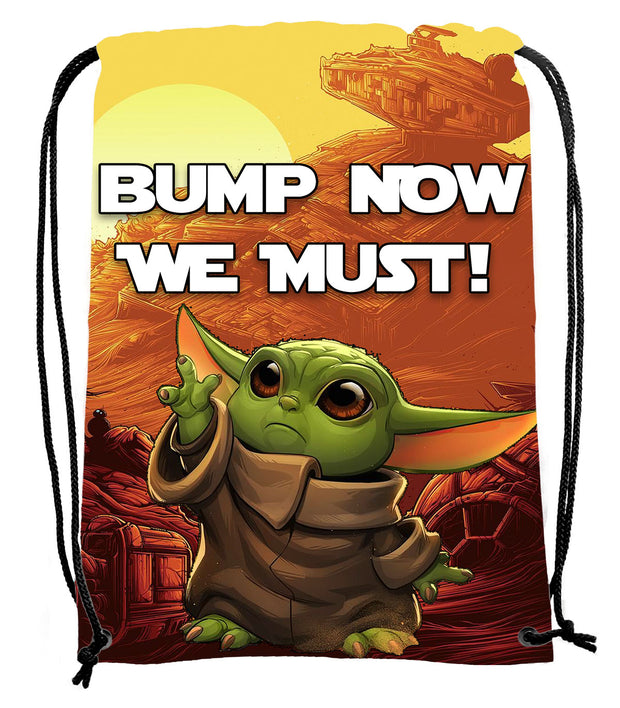 Baby Yoda Bump Bag - UV