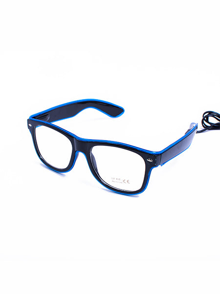 Blue Light Up Glasses