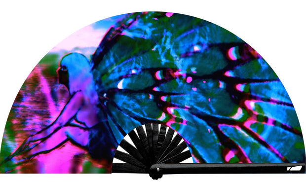 Cosmic Butterfly Fan - UV