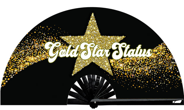 Gold Star Status Fan