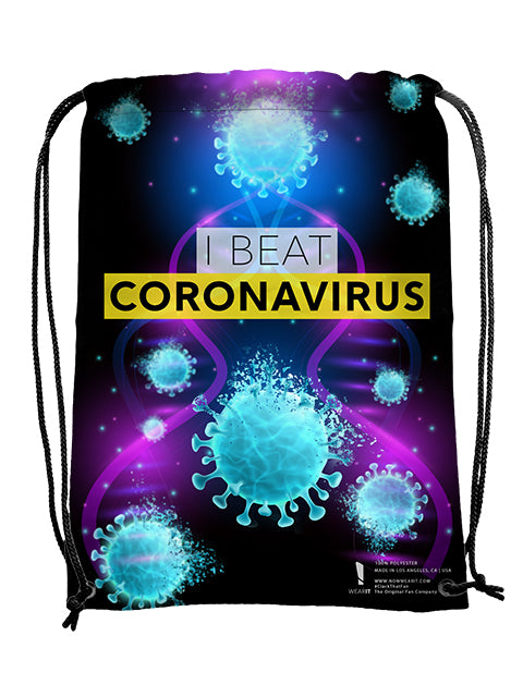I Beat CoronaVirus Bag - UV