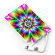 Neon Flower Phone Charger