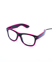 Pink Light Up Glasses