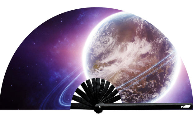 Planet Rings Fan - UV