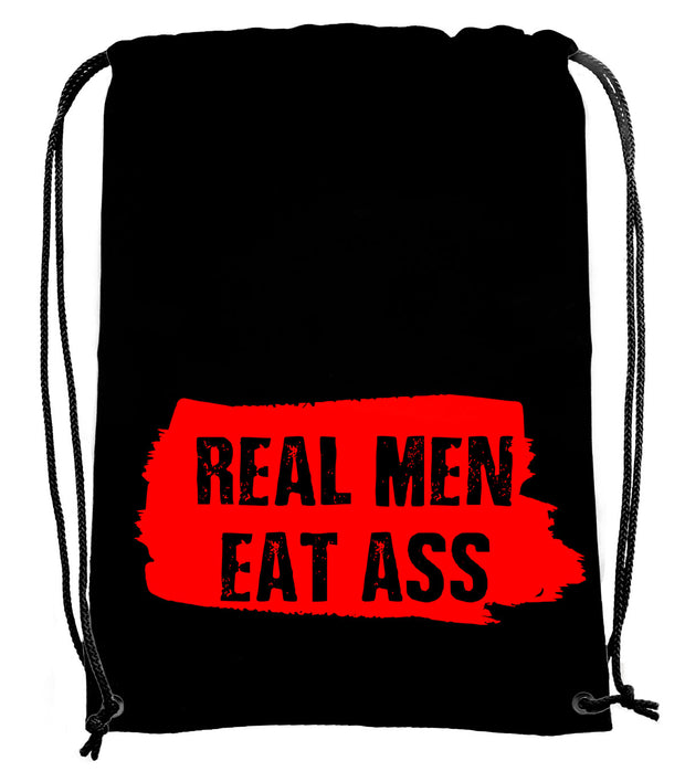 Real Men Eat Ass Bag - UV