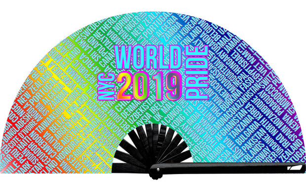 World Pride Nations Fan - UV