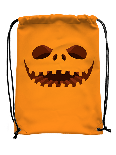 Pumpkin Face Bag - UV