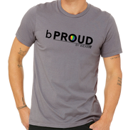 b PROUD - Pride Series Men's Tee