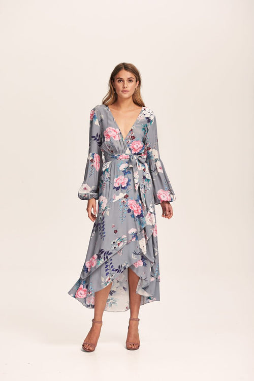 Steele - Peony Wrap Dress