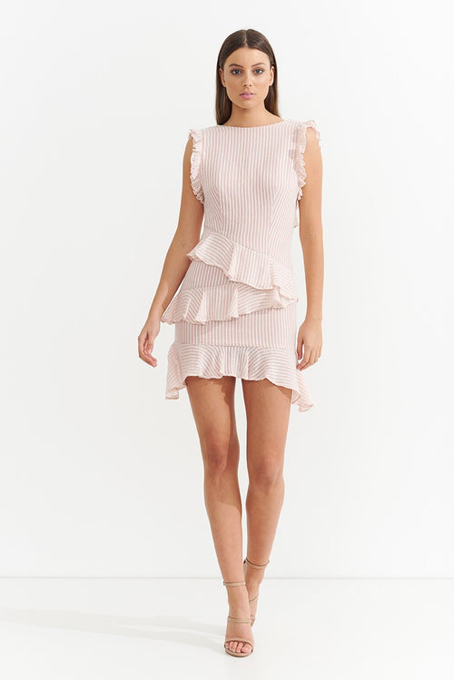 ASILIO - Florida Stripe Ruffle Mini