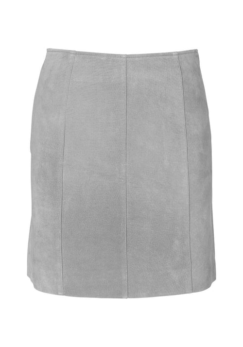 Ena Pelly - Suede Mini Skirt (Grey)