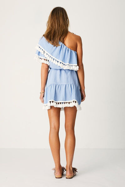 Suboo - Playa One Shoulder Frill Dress