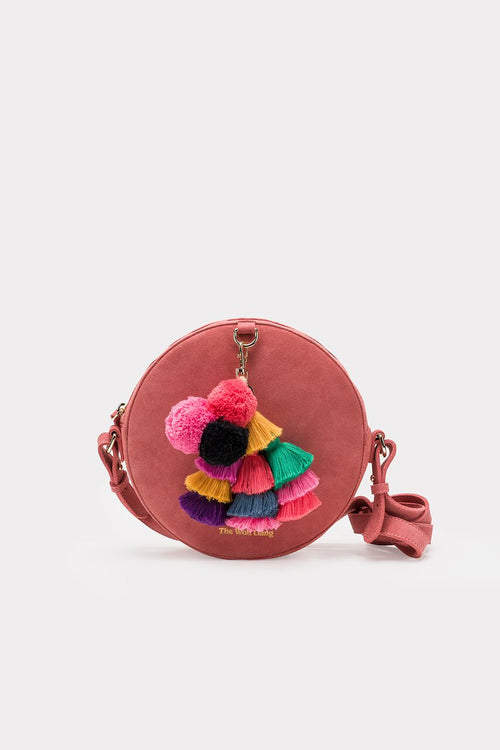 The Wolf Gang - Sol Circle Cross Body (Rose)