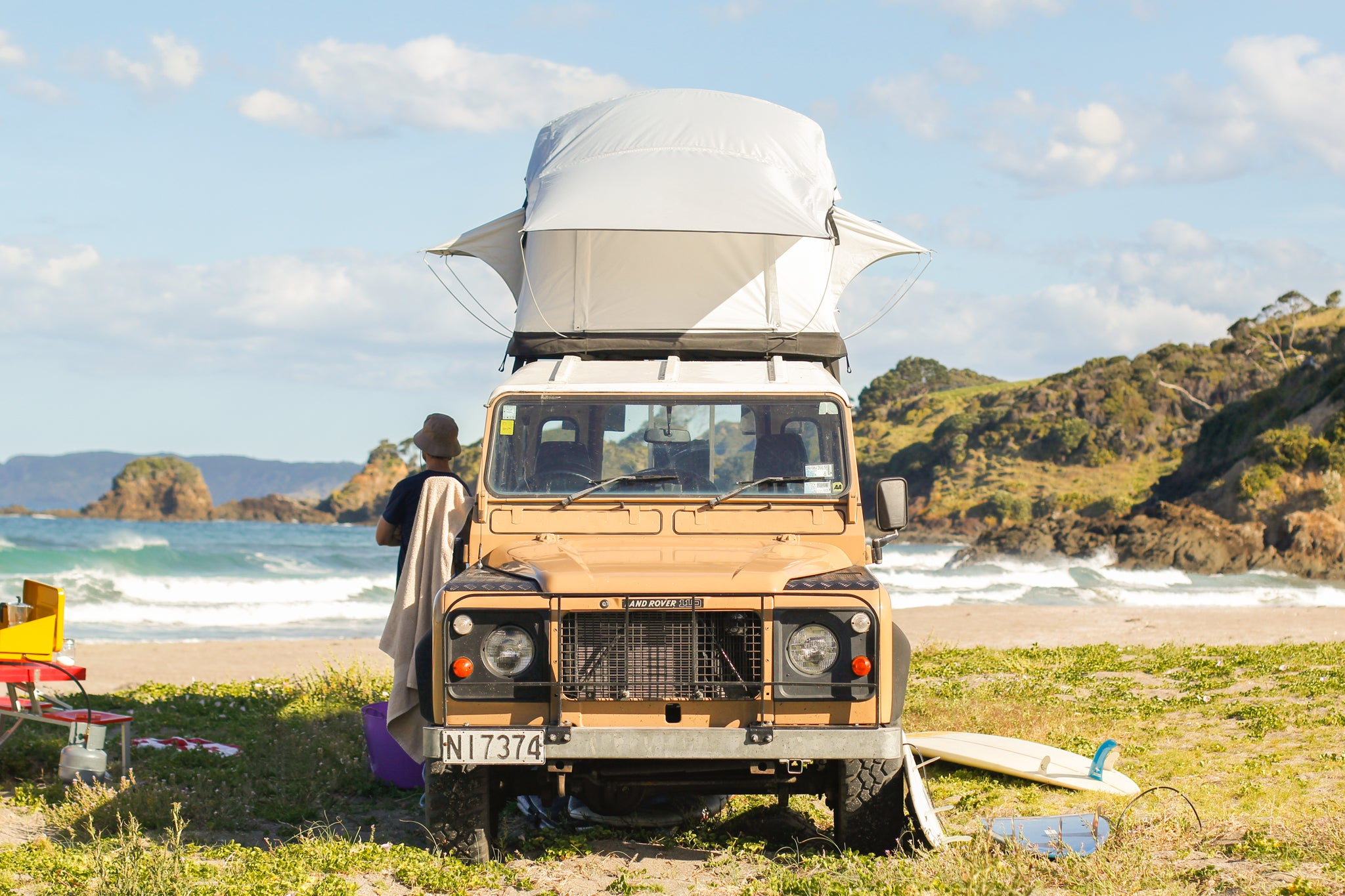 rooftop tent new zealand adventuring with feldon shelter