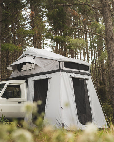 Crow's Nest Family Rooftop Tent Bundle - Black