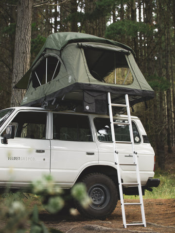 Crow's Nest Regular Rooftop Tent - Green