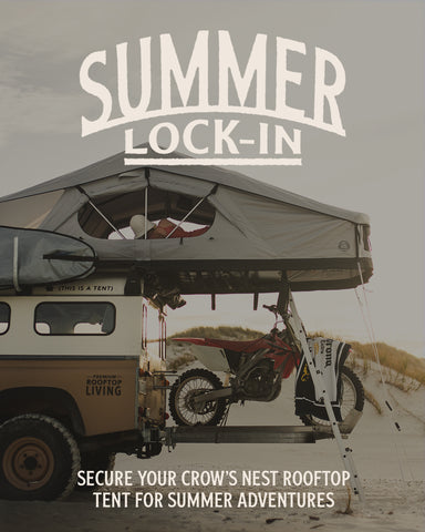 Summer Lock-in - Crow's Nest Rooftop Tent Pre-sale