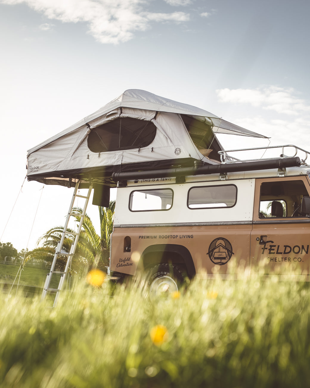 & Roof top Tent - The Crowu0027s Nest Extended Rooftop Tent | Feldon Shelter