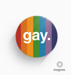 """Gay"" Fridge Magnet"