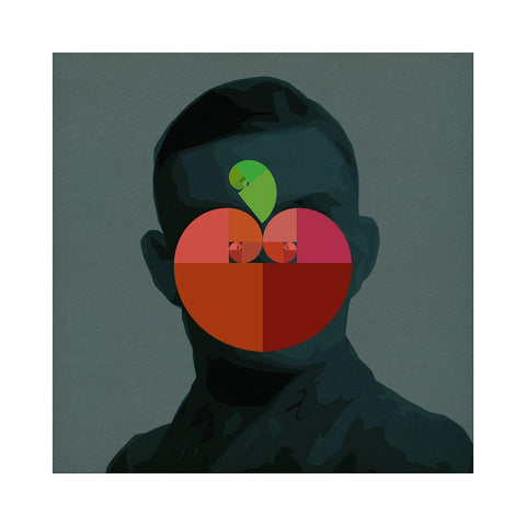 Turing Fibonacci Apple - BFA Hub Online Art Gallery www.bfa.gallery Giclée Abstract Deco, Alan Turing, Art Deco, Classics, digital, Fibonacci, new media, pop, pop art, Pop Deco, Portraits, Square, surreal