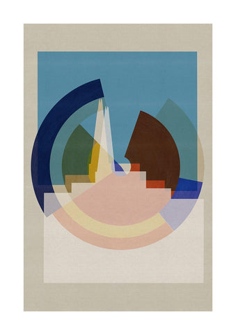 New Era - Shard - BFA Hub Online Art Gallery www.bfa.gallery Giclée Abstract Deco, Art Deco, canvas, cubism, Deco, Deco London, digital, London, London Collection, Making Shapes, new media, Photography, pop, pop art, Pop Deco