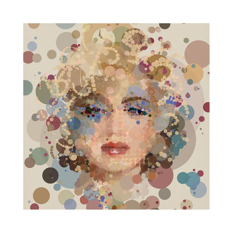 Pop Queen - BFA Hub Online Art Gallery www.bfa.gallery Giclée Abstract Deco, Art Deco, Classics, Deco, digital, dots, fizzy, fizzy pop, new media, pointillism, pop, pop art, Pop Deco, Portraits, spots, Square, surreal