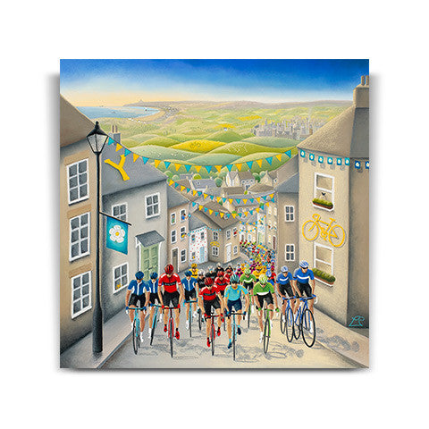 Pedals, Passion and Glory - Official Artwork of the Tour de Yorkshire 2017
