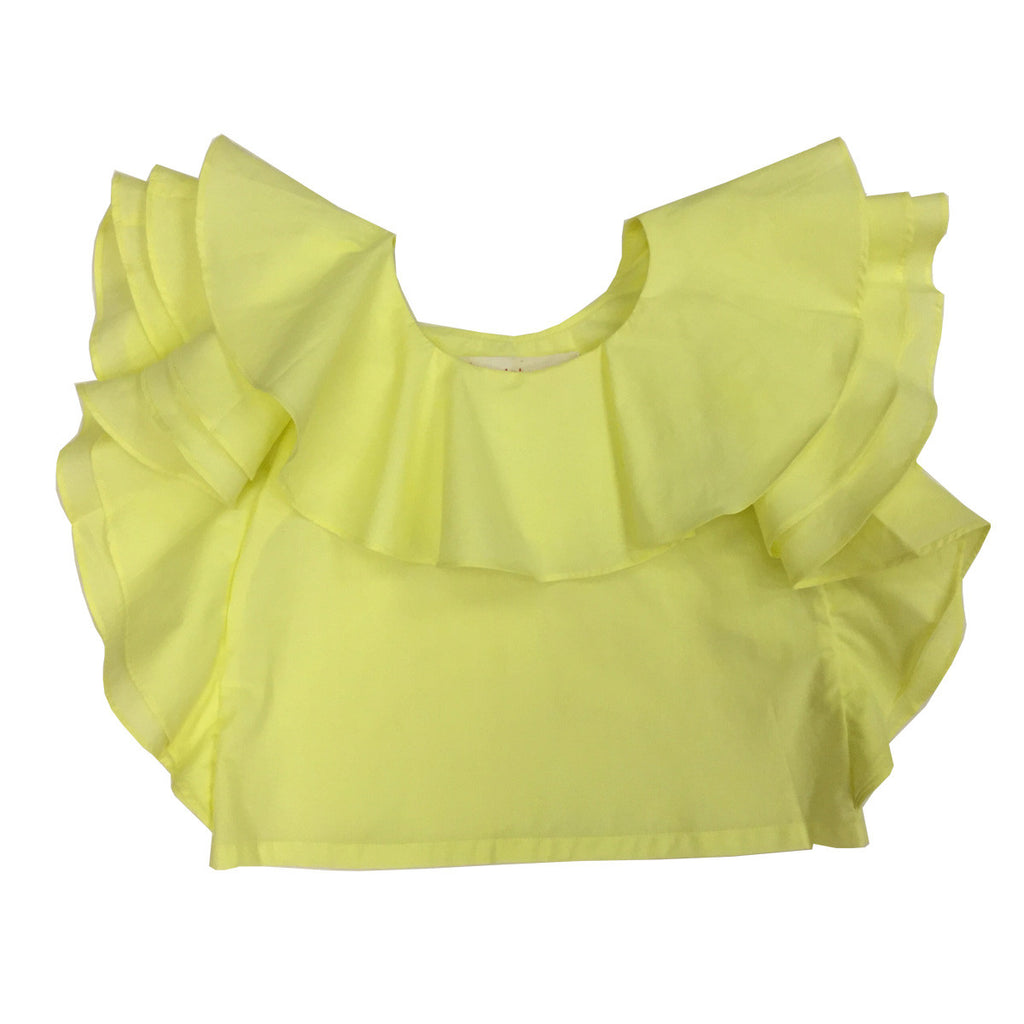 Ruffle Cotton Top
