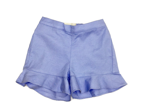 Linen Cotton Ruffle short