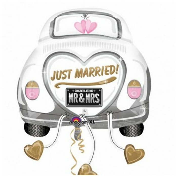 Just Married Wedding Car Balloon