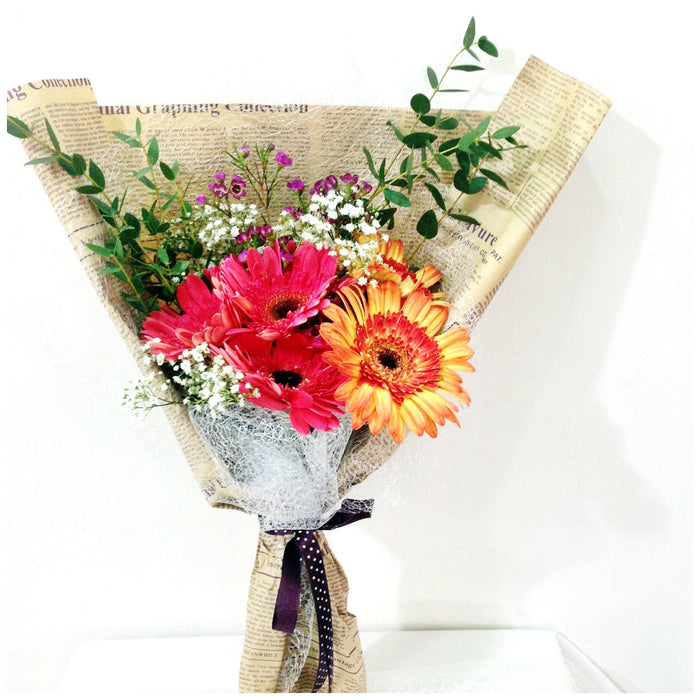 gerbera daisy bouquet singapore