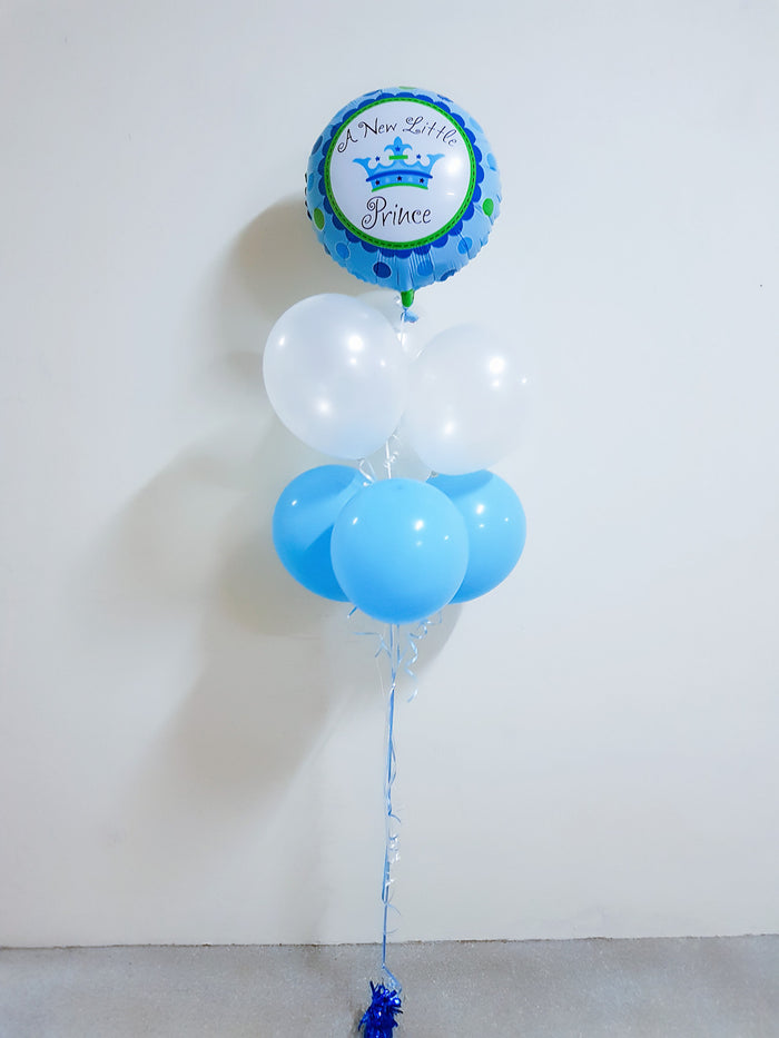 A new little prince balloon bouquet