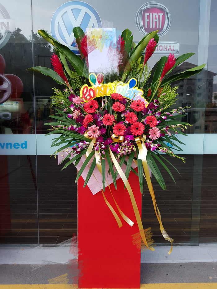 grand opening congratulatory stand singapore delivery