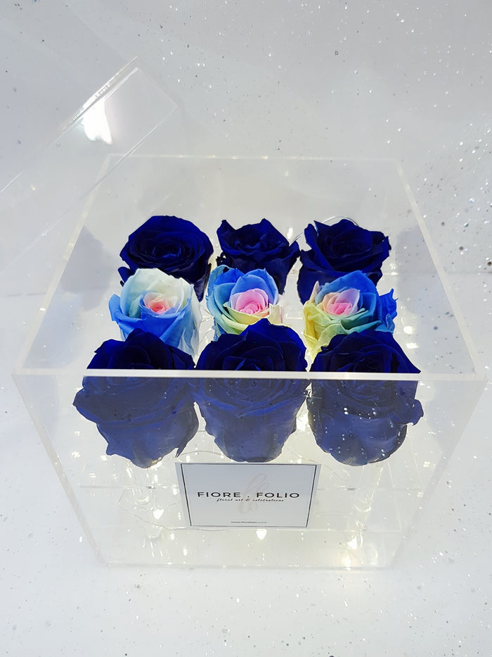 blue roses flower delivery singapore florist