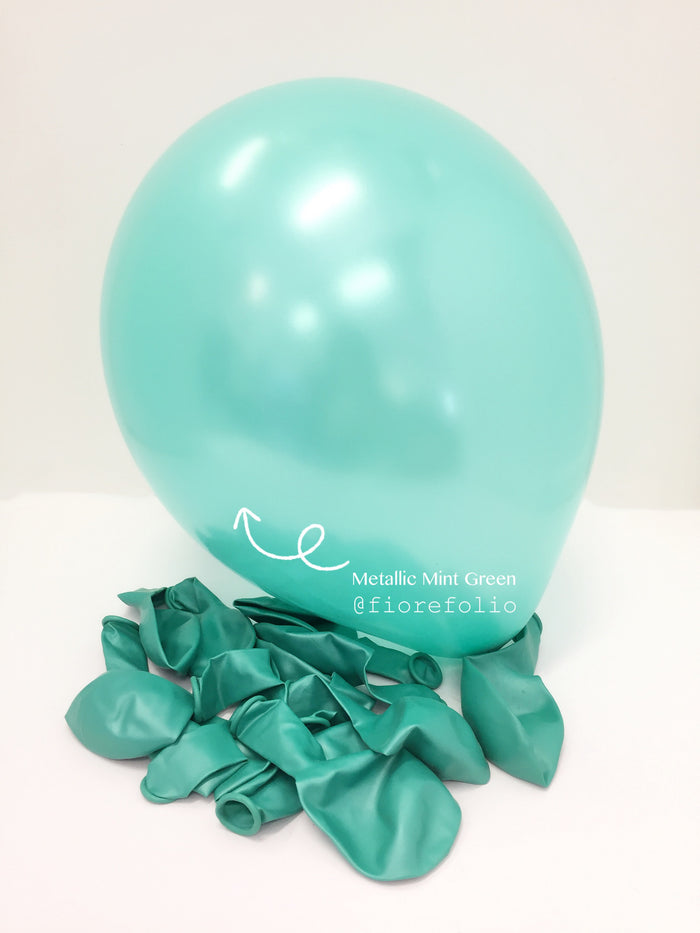 tiffany blue helium balloon
