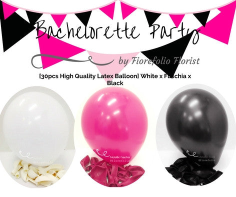 bachelorette party balloon package