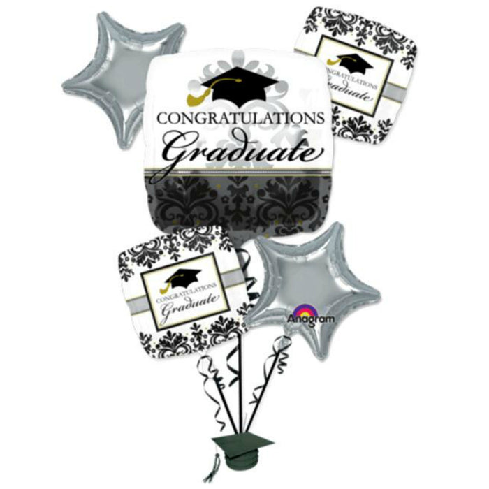 Congratulations Graduate 5 pcs bouquet