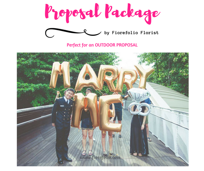 40 inch marry me proposal balloon package delivery