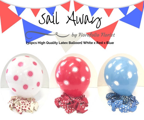 sailor themed balloon party package