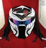 T28 Custom Made Predator Motorcycle Dot Approved Helmet