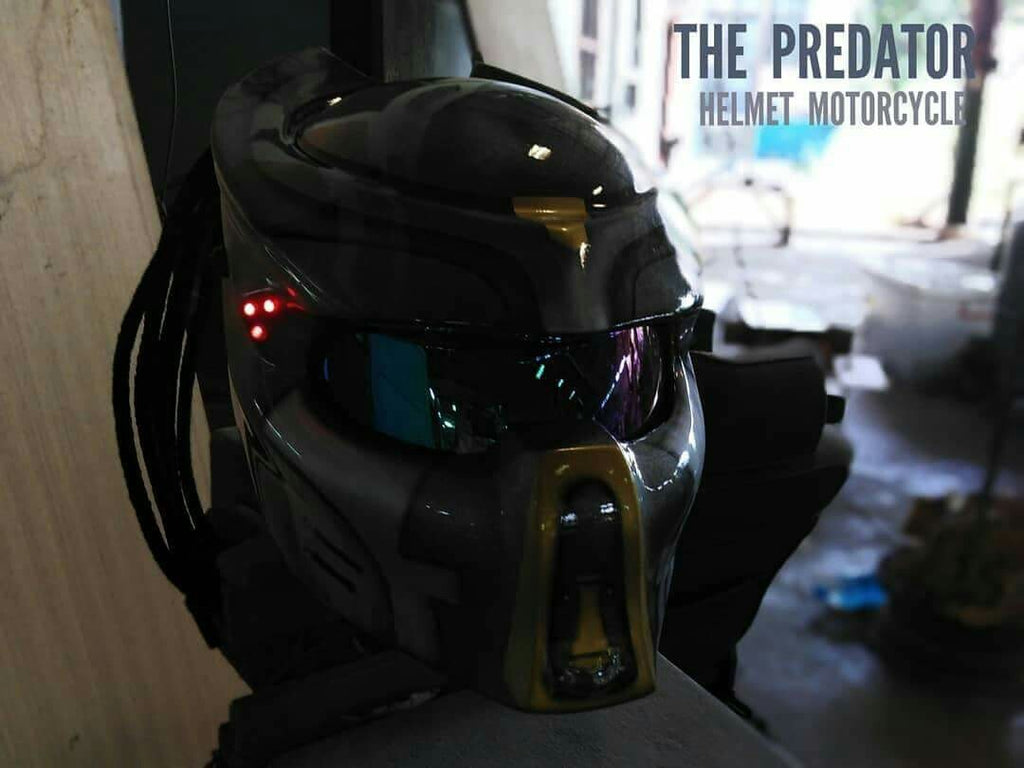 SY46 The Predator Motorcycle Dot Approved,ECE Helmet