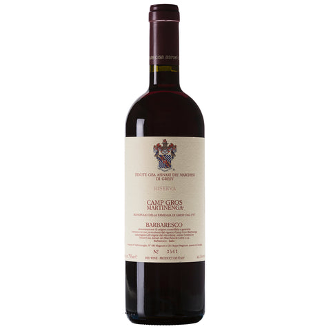 Marchesi di Gresy Camp Gros Martinenga Riserva Barbaresco DOCG Italian Red Wine