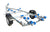 EXT 1100 Swing Galvanised Boat Trailer - Ocean First Marine
