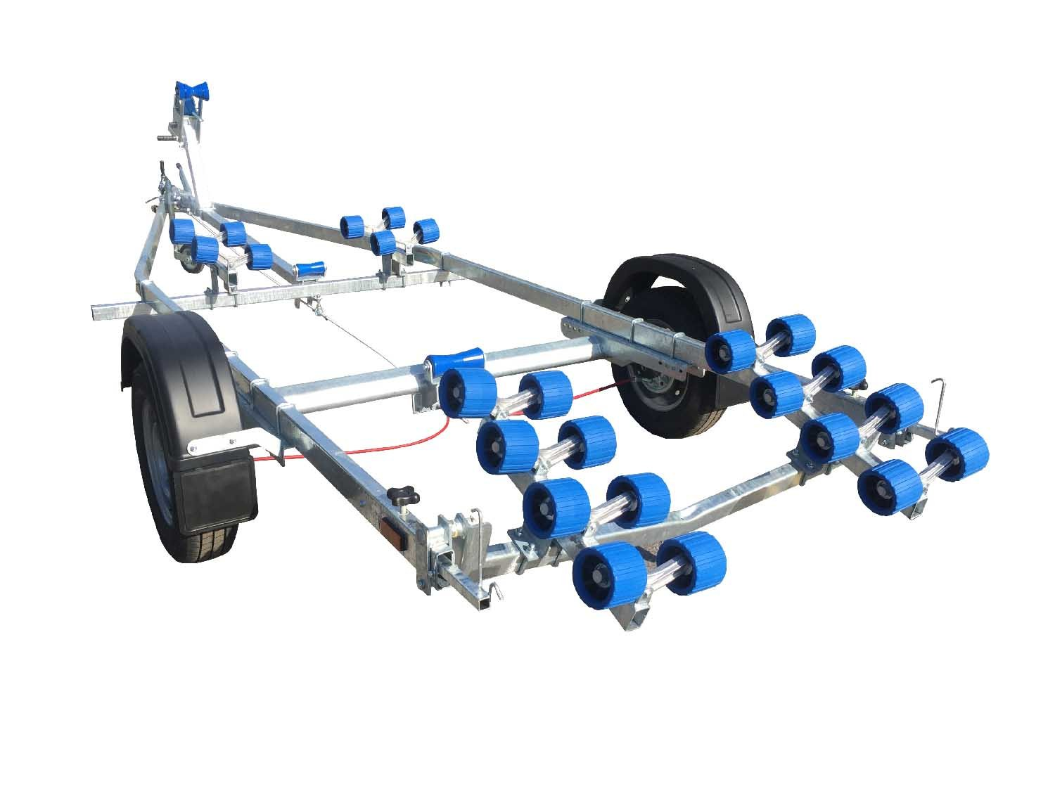 EXT 1300 Super Roller Galvanised Boat Trailer - Ocean First Marine