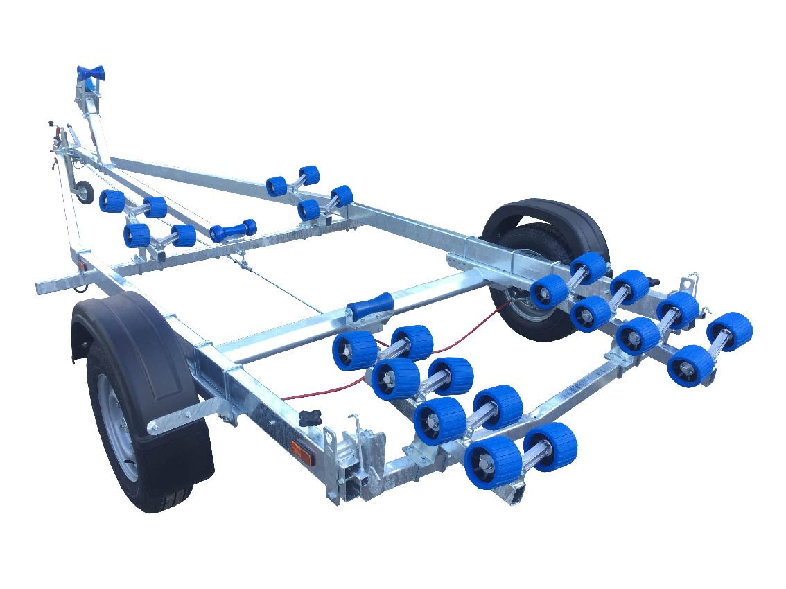 EXT 1400 Super Roller Galvanised Boat Trailer - Ocean First Marine